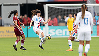 Houston, TX - Sunday April 08, 2018: Haley Hanson during an International Friendly soccer match between the USWNT and Mexico at BBVA Compass Stadium.