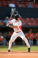 Illinois State Redbirds Sean Beesley (29) during a game against the Bowling Green Falcons on March 11, 2015 at Chain of Lakes Stadium in Winter Haven, Florida.  Illinois State defeated Bowling Green 8-7.  (Mike Janes/Four Seam Images)