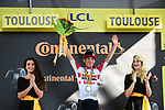 Caleb Ewan (AUS) Lotto-Soudal wins Stage 11 of the 2019 Tour de France running 167km from Albi to Toulouse, France. 17th July 2019.<br /> Picture: ASO/Alex Broadway   Cyclefile<br /> All photos usage must carry mandatory copyright credit (© Cyclefile   ASO/Alex Broadway)