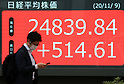 Japan's share prices close at 29-year high