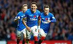 11.11.18 Rangers v Motherwell: James Tavernier celebrates his goal