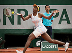 May 26, 2016:  Venus Williams (USA) defeated Louisa Chirico (USA) 6-2, 6-1, at  Roland Garros being played at Stade Roland Garros in Paris, .  ©Leslie Billman/Tennisclix/CSM