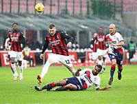 Milano 07-02-2021<br /> Stadio Giuseppe Meazza<br /> Serie A  Tim 2020/21<br /> Milan - Crotone nella foto: Ante Rebic                                                         <br /> Antonio Saia Kines Milano