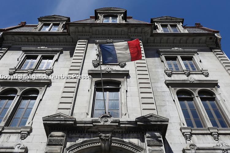 l'Union Francaise<br /> de Montreal, 2016<br /> <br /> Photo : <br /> Pierre Roussel - Agence Quebec Presse