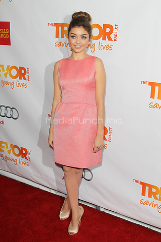LOS ANGELES, CA - DECEMBER 02: Sarah Hyland at 'Trevor Live' honoring Katy Perry and Audi of America for The Trevor Project held at The Hollywood Palladium on December 2, 2012 in Los Angeles, California. Credit: mpi21/MediaPunch Inc.