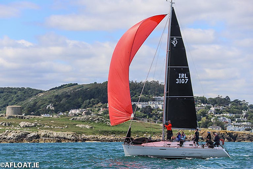 John Power and Michael Leahy's Beneteau 31.7 Levante was the Saturday Scratch winner