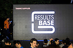 Branding at the Bloomberg Square Mile Relay along Edinburgh Place in the city's central district on 10 November 2016 in Hong Kong, China. Photo by Marcio Machado / Power Sport Images