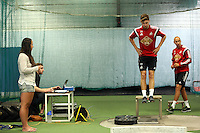 Pictured: Ben Davies. Thursday 03 July 2014<br />