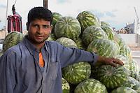 Tripoli, Libya - Egyptian Watermelon Vendor