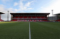 Pictured: Saturday 07 January 2012<br /> Re: FA Cup football Barnsley FC v Swansea City FC at the Oakwell Stadium, south Yorkshire.
