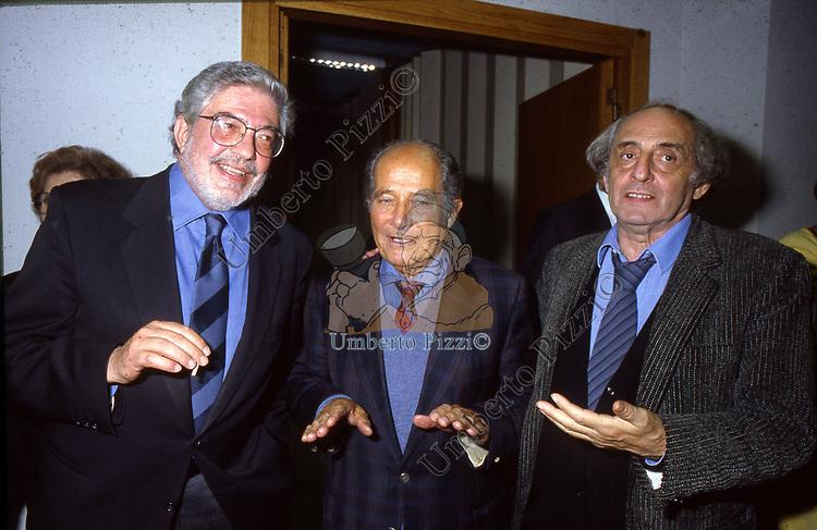 ETTORE SCOLA, GILLO PONTECORVO E CITTO MASELLI<br /> <br /> 1995