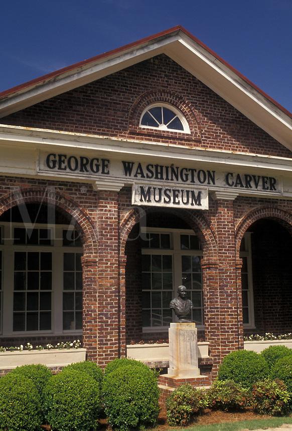 AJ4001, university, George Washington Carver, Tuskegee Institute National Historic Site, Alabama, George Washington Carver Museum and Visitor Center at the Tuskegee Institute Nat'l Historic Site in Tuskegee in the state of Alabama.