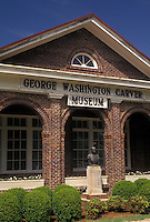 AJ4001, university, George Washington Carver, Tuskegee Institute National Historic Site, Alabama, George Washington Carver Museum and Visitor Center at the Tuskegee Institute Nat'l Historic Site in Tuskegee in the state of Alabama.