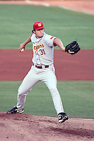 Andrew Triggs, University of Southern California Trojans against the Arizona State Sun Devils at Packard Stadium, Tempe, AZ - 04/16/2010.Photo by:  Bill Mitchell/Four Seam Images.