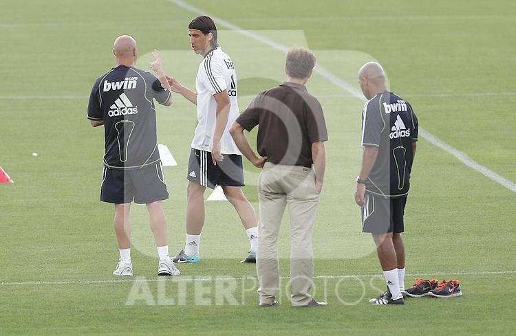 MADRID (10/08/2010).- Real Madrid training session at Valdebebas, Real Madrid City. Sami Khedira...Photo: Cesar Cebolla / ALFAQUI