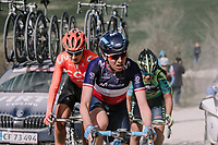 Aude Biannic (FRA/Movistar)<br /> <br /> 5th Strade Bianche WE (1.WWT)<br /> One day race from Siena to Siena (136km)<br /> <br /> ©JojoHarper for kramon