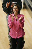 15 January 2006: Kristen Smyth during Stanford's gymnastics meet at Maples Pavilion in Stanford, CA.