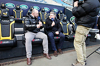 Photo: Richard Lane/Richard Lane Photography. Wasps v Northampton Saints. Gallagher Premiership. 06/01/2019. Wasps' David Flatman and Mark Durden-Smith.