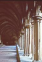 Salisbury: Salisbury Cathedral--Cloisters. Photo '90.