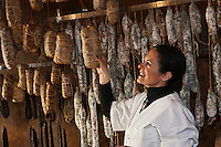 Europe/France/2A/Corse du Sud/Ajaccio:  Charcuterie Pantalacci - Marie-Paule Pantalacci [Non destiné à un usage publicitaire - Not intended for an advertising use]