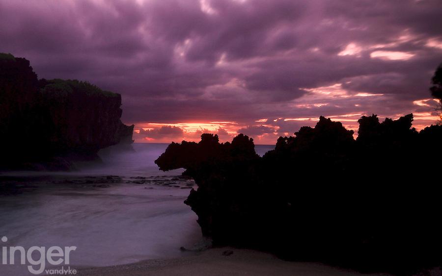 Sunrise at Ethel Beach, Christmas Island, Western Australia