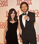 """SABRINA IMPACCIATORE CON CLAUDIO SANTAMARIA<br /> RED CARPET - PREMIERE """"BACIAMI ANCORA """" DI GABRIELE MUCCINO - AUDITORIUM DELLA CONCILIAZIONE ROMA 2010"""