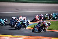 VALENCIA, SPAIN - NOVEMBER 8: Miguel Oliveira during Valencia MotoGP 2015 at Ricardo Tormo Circuit on November 8, 2015 in Valencia, Spain