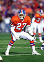 Denver Broncos Steve Atwater (27) during a game from his 1996 season with the Broncos. Steve Atwater played for 11 years with 2 different teams, was a 8-time Pro Bowler.