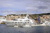 - Genova, yacht ormeggiati in Porto Antico<br /> <br /> - Genoa yachts moored in the Old Port