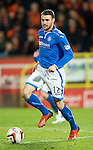 Dundee United v St Johnstone...12.03.14    SPFL<br /> James Dunne<br /> Picture by Graeme Hart.<br /> Copyright Perthshire Picture Agency<br /> Tel: 01738 623350  Mobile: 07990 594431