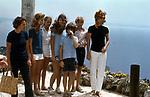 JACKIE KENNEDY ONASSIS CIN I FIGLI <br /> CAPRI 1971