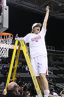 10 March 2008: Stanford Cardinal Morgan Clyburn during Stanford's 56-35 win against the California Golden Bears in the 2008 State Farm Pac-10 Women's Basketball championship game at HP Pavilion in San Jose, CA.