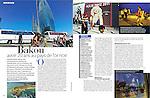 """Bakou avoir 20 ans au pays de l'or noir,"" Madame Figaro 12/26/2011, p. 90-91. Photos by Amanda Rivkin."