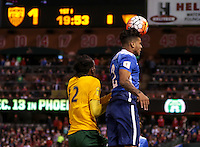 St. Louis, Mo. - Friday, November 13, 2015: The USMNT take a 3-1 lead over St. Vincent and the Grenadines during their 2018 FIFA World Cup Qualifying match at Busch Stadium.