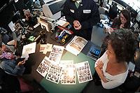 le laboratoire d expertises medico legale du SVPM  en Juin 2014 lors de son centenaire<br /> <br /> <br /> Quebec Police forensic lab in Montreal invite the medias for its 100 anniversary<br /> <br /> PHOTO :   AGENCE QUEBEC PRESSE