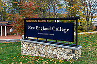 New England College, Henniker, New Hampshire, USA.