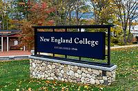New England College, Henniker, New Hampshire, USA.