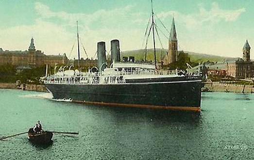 The RMS Leinster departed from the Carlisle Pier on its final voyage on the 10th October 1918