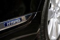 Toyota hybrid car. © Fredrik Naumann/Felix Features