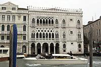 Veduta della Ca' d'Oro a Venezia.<br /> View of the Ca' d'Oro in Venice.<br /> UPDATE IMAGES PRESS/Riccardo De Luca
