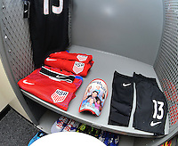 Philadelphia, PA. - June 11, 2016: United States Locker roomduring Copa America Centenario Group A match between United States (USA) and Paraguay (PAR) at Lincoln Financial Field.