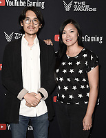 LOS ANGELES- DECEMBER 12: Atlas Chen and Jennie Kong attend the Game Awards 2019 at the Microsoft Theater on December 12, 2019 in Los Angeles, California. (Photo by Scott Kirkland/PictureGroup)