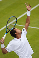 22-6-09, Enland, London, Wimbledon, Jo-Wilfried Tsonga