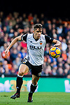 Gabriel Armando De Abreu of Valencia CF in action during the La Liga 2017-18 match between Valencia CF and Villarreal CF at Estadio de Mestalla on 23 December 2017 in Valencia, Spain. Photo by Maria Jose Segovia Carmona / Power Sport Images