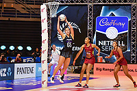 24th September 2021: Christchurch, New Zealand;  Maia Wilson of the Silver Ferns during the third Cadbury Netball Series/Taini Jamison Trophy, New Zealand Silver Ferns versus England Roses, Christchurch Arena, Christchurch, New Zealand