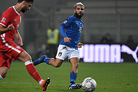 Lorenzo Insigne of Italy in action during the Uefa Nation League Group Stage A1 football match between Italy and Poland at Citta del Tricolore Stadium in Reggio Emilia (Italy), November, 15, 2020. Photo Andrea Staccioli / Insidefoto