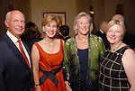 From left: Shel and Clayton Erikson with Nancy Dunlap and Leslie Blanton at the Memorial Park Conservancy Gala at The Bayou Club Thursday Oct. 15,2009. (Dave Rossman/For the Chronicle)