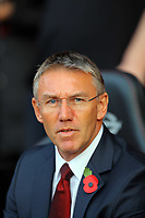 Saturday 10 November 2012<br /> Pictured: Nigel Adkins, manager for Southampton<br /> Re: Barclay's Premier League, Southampton FC v Swansea City FC at St Mary's Stadium, Southampton, UK.