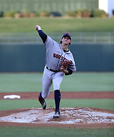 Forrest Whitley plays in the 2018 Arizona Fall League Fall Stars Game at Surprise Stadium on November 3, 2018 in Surprise, Arizona. The game was won by the West team, 7-6 (Bill Mitchell)