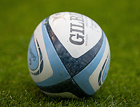 29th August 2020; AJ Bell Stadium, Salford, Lancashire, England; English Premiership Rugby, Sale Sharks versus Bristol Bears; The Premiership Rugby game Ball